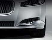 Jaguar XF 2012-2015 OE LH Bumper Side Grille Replacement w Chrome Splitter