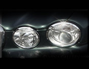 Jaguar XJ8 & XJR Chrome Headlight Trim Surround