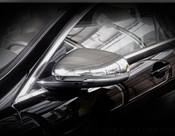 Jaguar XJ Chrome Mirror Cover Finishers