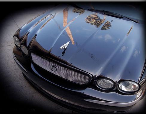 Jaguar X-Type New 2008 Style Mesh Grille