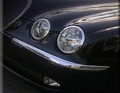 Jaguar S-Type Chrome Headlight Trim Finisher set 99-2008 models