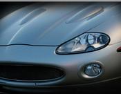 Jaguar XK8 & XKR Black European Style Mesh Grille Assembly