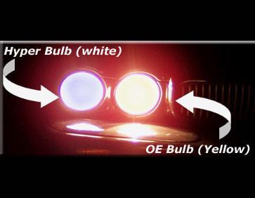 Jaguar XJ6 & XJR Head and Fog Light Replacement Bulbs