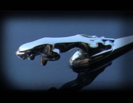 Jaguar XJ6 & XJR Original Leaping Growler Ornament Mascot