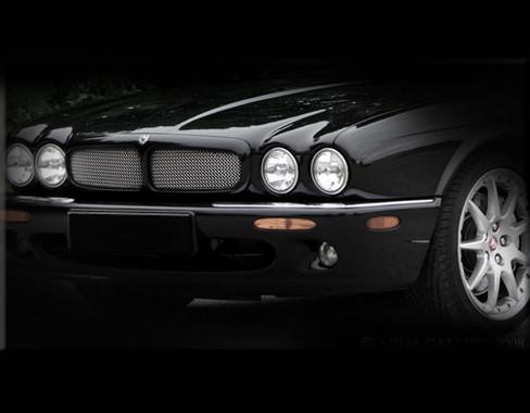 Jaguar XJ6 & XJR Front Mesh Grille Inserts 1988-1994 models