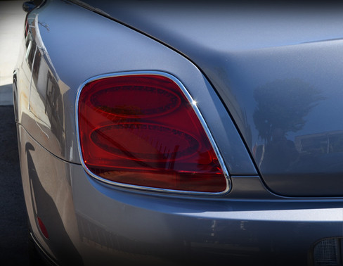 Bentley GT / GTC Chrome Taillight Trim Surround Finishers 03-2009