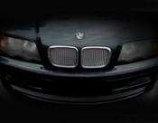 BMW 3 Series Complete Kidney Mesh Grilles  (4 door models) 99-01