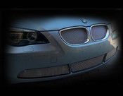 BMW 5 Series Complete Kidney Mesh Grille Set 2004-2009