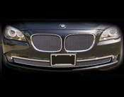 BMW 7 Series; 750 & 760 Complete Mesh Grille Set 2009-2011