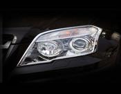 Mercedes GLK Headlight Chrome Trim Finisher set 2009-2012