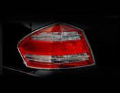 Mercedes GL Taillight  Chrome Trim Finisher set  2009-2011