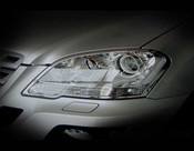 Mercedes ML Headlight Chrome Trim Finisher set 2009-2011