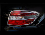 Mercedes ML Taillight  Chrome Trim Finisher set  2009-2011
