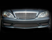 Mercedes S-Class S55 AMG Lower Mesh Grille set 2000-2002 models