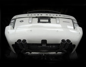 Range Rover Mina Gallery Quad Tip Performance Exhaust 03-2005