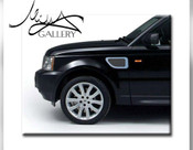 Range Rover Sport Fender Mesh Grilles 2006-2009 (Black or Chrome)