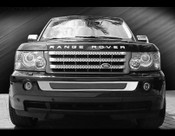 Range Rover Sport Bumper Mesh Grille Kit 2006-2009 (Black or Chrome)