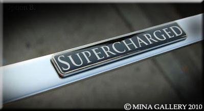 High Line Supercharged Metal Emblem