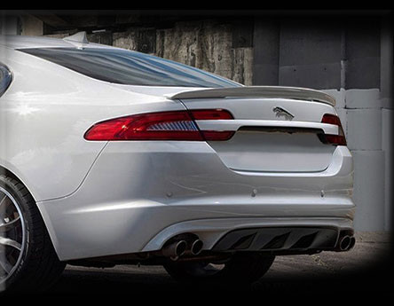 Jaguar Xf Xfr Speed Style Trunk Spoiler Wled Light 2007 2011