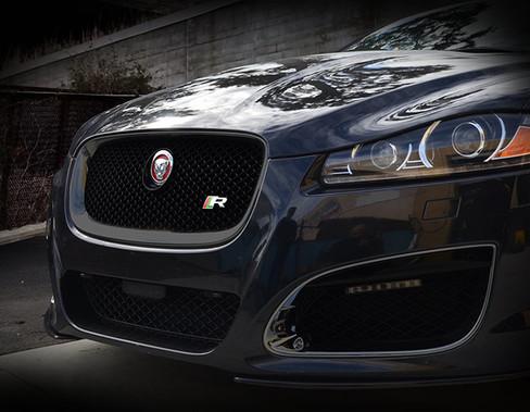 Jaguar XF & XFR All Black Grille Replacement (2012-2015 models)