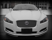Jaguar XF Carbon Fiber Front Apron Upgrade