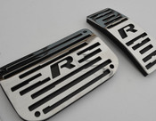 Jaguar XF & XFR Sport Alloy Pedal Upgrade 3pcs kit