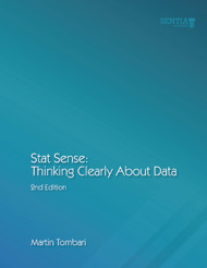 Stat Sense:  Thinking Clearly About Data  (Martin Tombari) - physical book