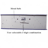 Large Book Safe with Combination Lock