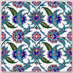 Ceramic tile - Style 001 - 20x20cm