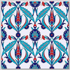 Ceramic tile - Style 002 - 20x20cm