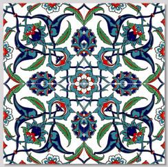Ceramic tile - Style 025 - 20x20cm