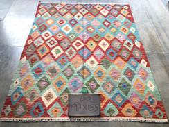 14 Kilim Rugs - 197x155 cm
