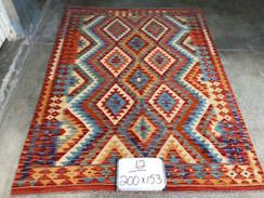 27 Kilim Rugs - 200x153 cm