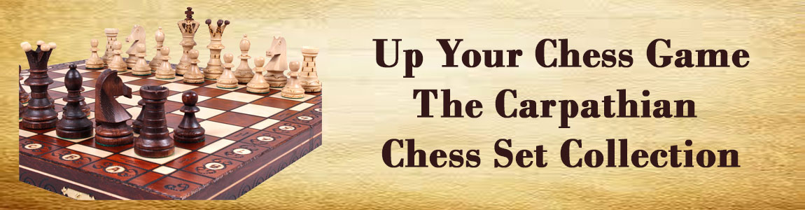 Wooden Chess Sets, Pieces, and Folding Chess Boards