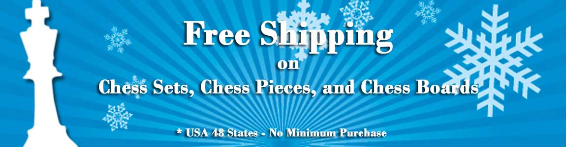 Chess Set, Pieces, Boards - Free Shipping for Great Gifts