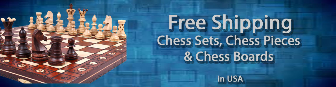 Chess Sets Ship FREE in USA