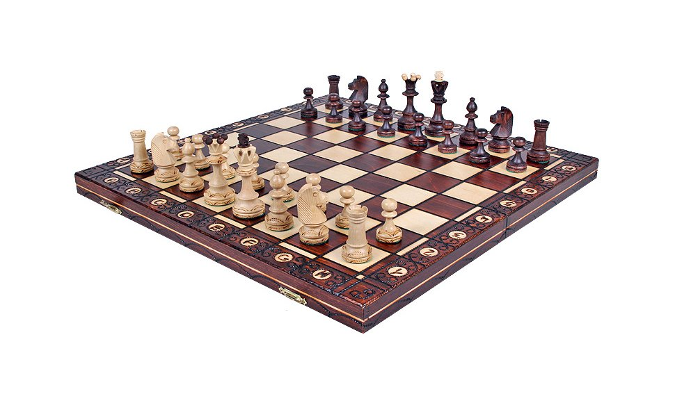 Add a product the zaria unique wood chess set pieces chess board storage - Chess board display case ...