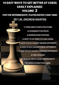 10 Easy Ways to Get Better at Chess, Intermediate DVD