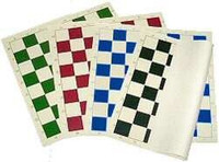 "Vinyl Chess Board with 2.25"" squares"
