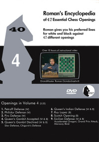 Roman's Encyclopedia of Openings -  4 DVD
