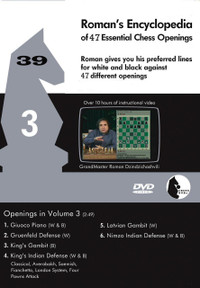 Roman's Encyclopedia of Openings -  3 DVD