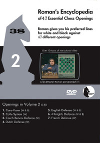 Roman's Encyclopedia of Openings -  2 DVD