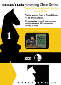 Roman's Chess Labs: Vol 1 Learning Openings the Easy Way: Traps & Novelties DVD