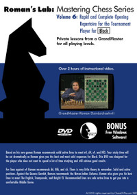 Roman's Chess Labs:  6, Rapid and Complete Opening Repertoire for Black DVD