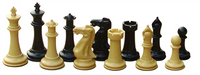 Value Collection: Superior Chess Pieces (2 Extra Queens) &  Folding Chess Board