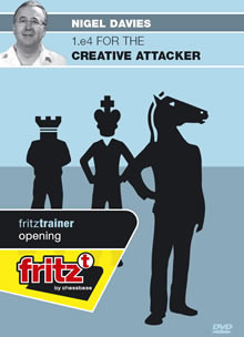 1.e4 for the Creative Attacker - Chess Opening Software on DVD