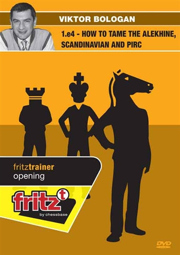 1.e4: How to Tame the Alekhine, Scandinavian and Pirc - Chess Opening Software