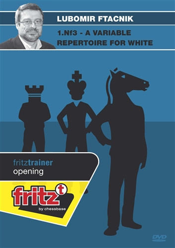 1.Nf3: A Variable Repertoire for White - Chess Opening Software on DVD