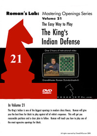 Roman's Chess Labs:  21, The Easy Way to Play the King's Indian Defense DVD