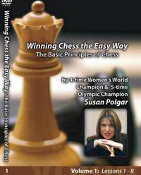 Susan Polgar, 1: The Basic Principles of Chess DVD